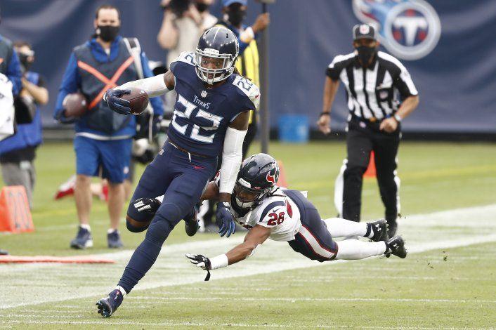 Titans se mantienen invictos al vencer 42-36 a Texans en TE