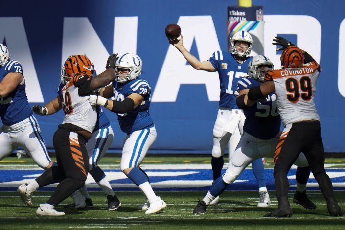 Con gran remontada, Colts superan 31-27 a Bengals