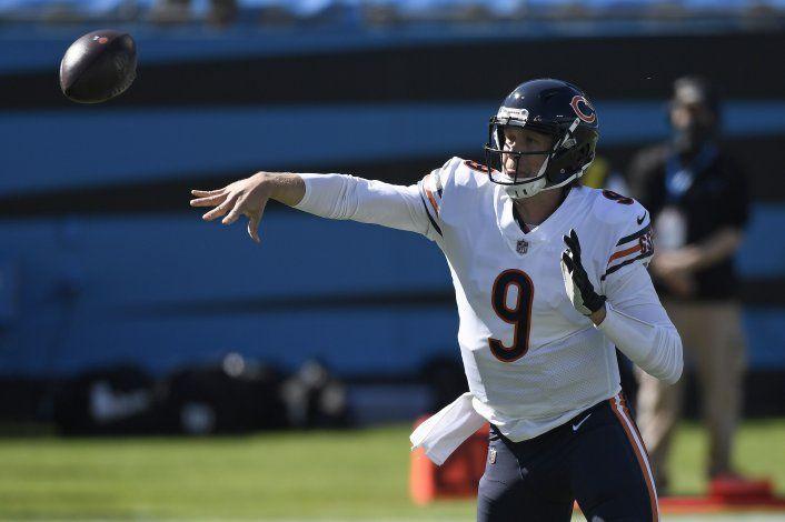 De la mano de Foles y la defensa, Bears vencen a Panthers
