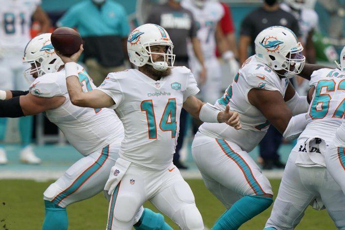 Dolphins blanquean 24-0 a los Jets, que siguen sin ganar
