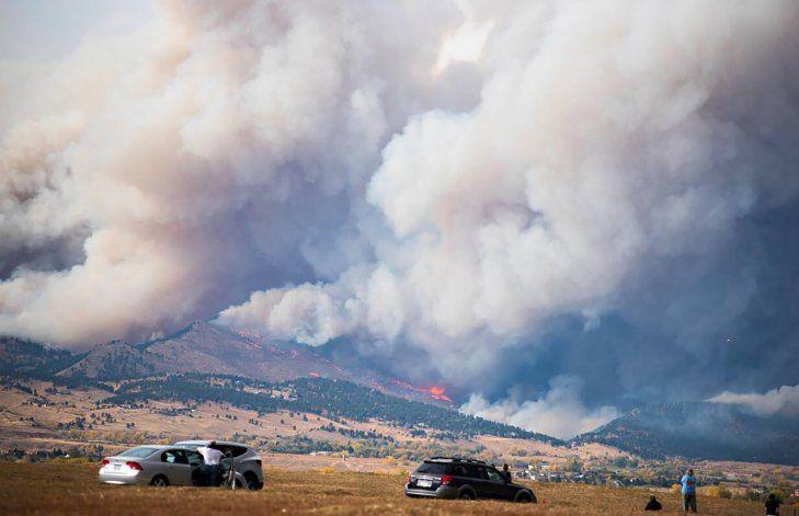 Incendios en Colorado habrían destruido muchas casas