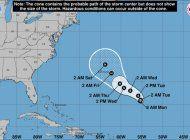 se forma nueva depresion tropical en el atlantico