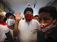 evo morales regresara a bolivia, pide respeto a washington