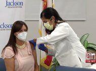 vicegobernadora de la florida promueve la vacunacion contra la gripe