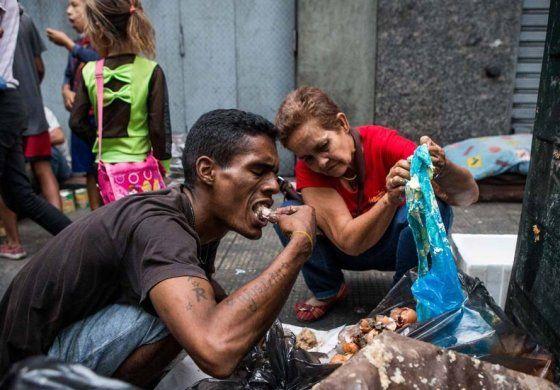 El hambre, un virus sin vacuna en Venezuela