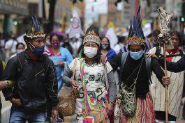 colombia: protestan por respuesta de gobierno a pandemia