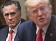el republicano mitt romney dice que no voto por trump para su reeleccion