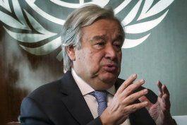 guterres: lideres g20 deben coordinarse contra el covid-19