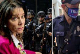 la fiscal estatal katherine fernandez rundle califica de inaceptable conducta de policia con mascara de trump