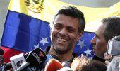 Venezuela: López se une a la familia tras huir de Venezuela
