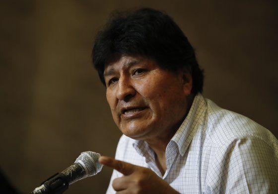 Justicia retira orden de detención contra Evo Morales