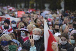 con huelgas masivas exigen renuncia de presidente bielorruso