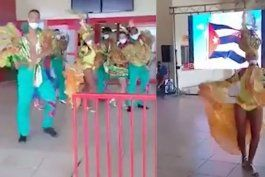 a bailar y a gozar, que llegaron los fulas: asi fueron recibidos en varadero los primeros turistas extranjeros en siete meses