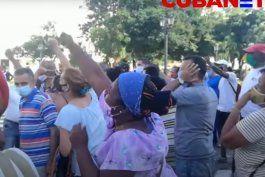 video: acto de repudio, golpizas y detenciones: asi termino la protesta convocada por el movimiento san isidro