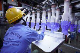 virus causa demora en 1er fabricante mundial de guantes