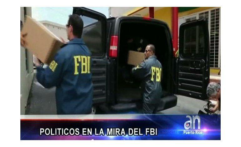 Políticos en la mira del FBI