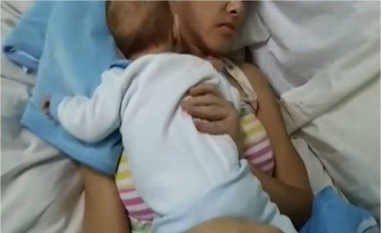 Milagro mujer da a luz cuando se encontraba en coma