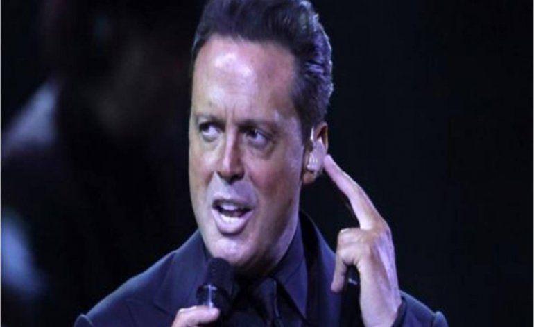 Arrestan al cantante Luis Miguel