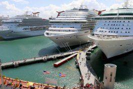 turismo anuncia cifra record de pasajeros de cruceros en abril