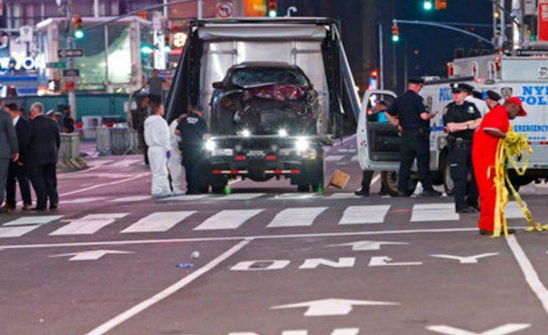 Acusan de asesinato al sospechoso de caos en Times Square