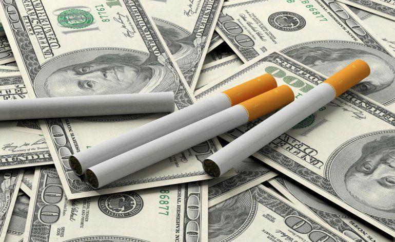 Fuerte caída en la venta de cigarrillos