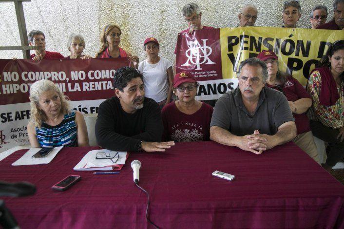 Profesores de la UPR abogan por su retiro