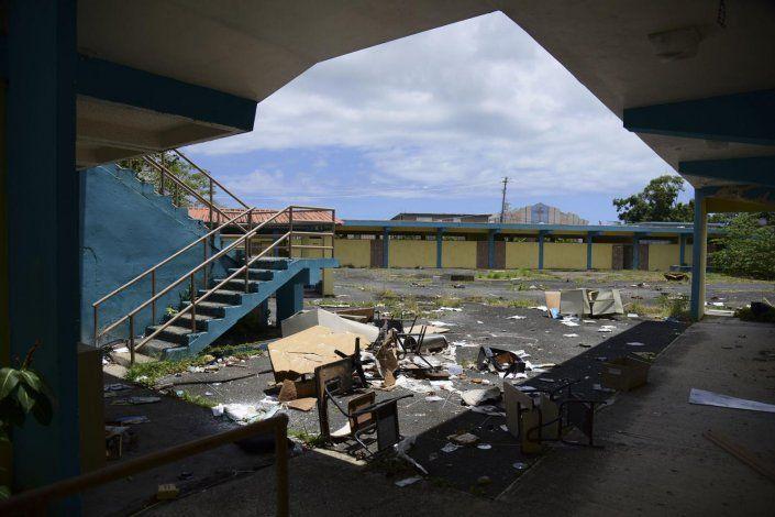 Sin dinero para las escuelas cerradas