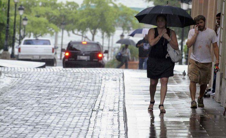 El resto de la semana se mantendrá lluviosa a través de la isla