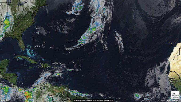 Una onda tropical provocará condiciones lluviosas en la isla