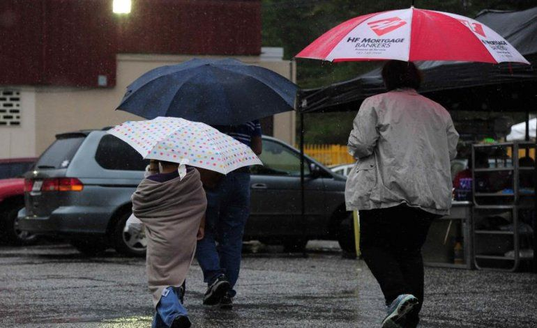 La semana comenzará con lluvias sobre el interior y oeste de la isla