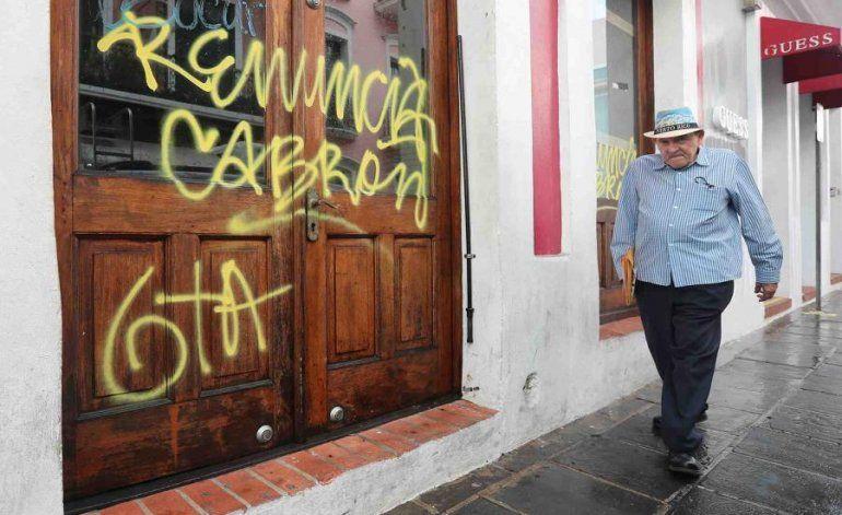 Comerciantes: La renuncia de Rosselló es la única manera de asegurar la paz en Viejo San Juan