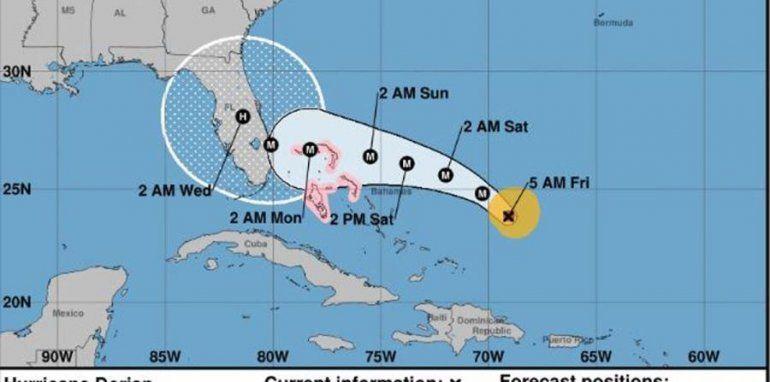 Maceira asegura que Dorian no impedirá que lleguen suministros desde Florida a la isla