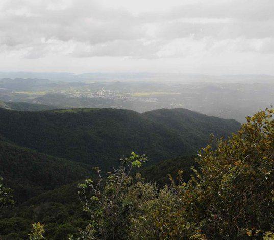 Las lluvias se concentrarán en la Cordillera Central de la isla