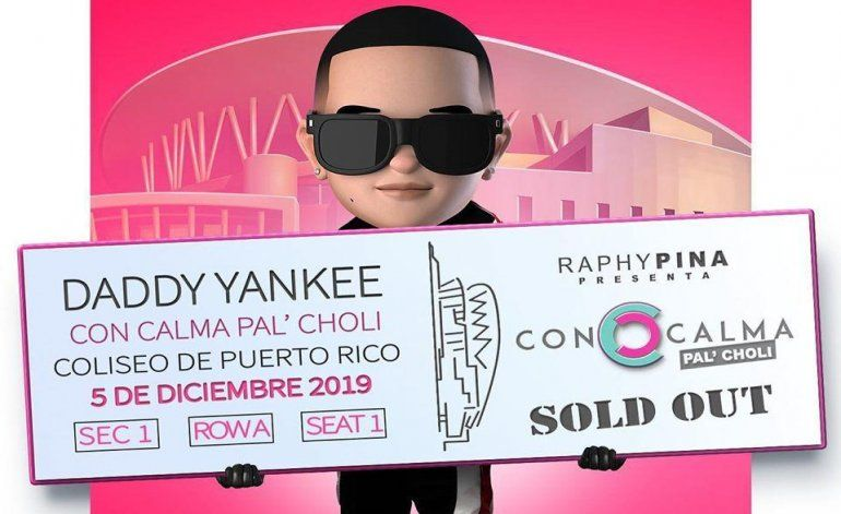 Daddy Yankee logra sold out en tiempo récord