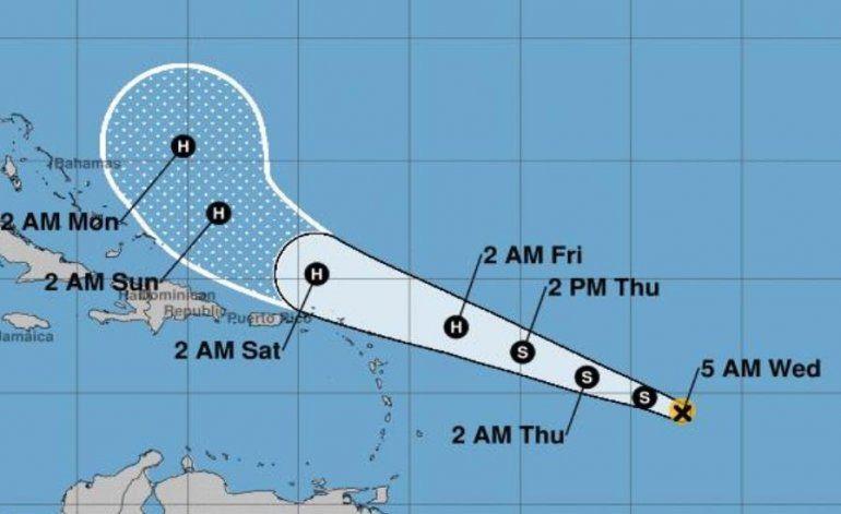 Se forma la tormenta tropical Jerry en el Atlántico