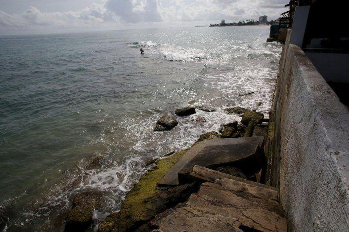 Urgen dinero para atacar erosión costera