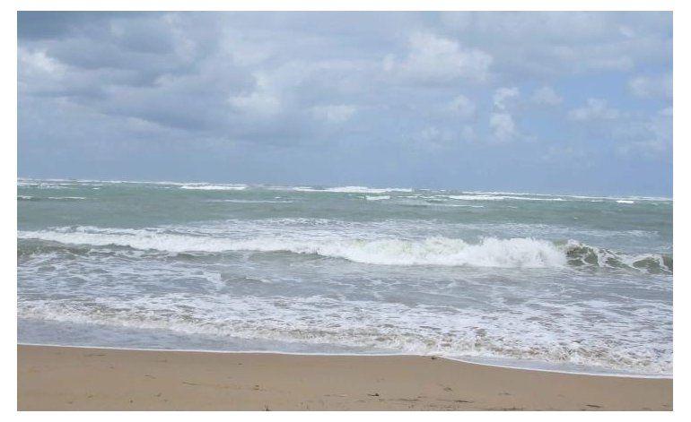 Oleaje picado, polvo del Sahara y poca lluvia es el patrón que se espera hoy para la isla