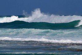 una marejada deteriorara manana las condiciones maritimas