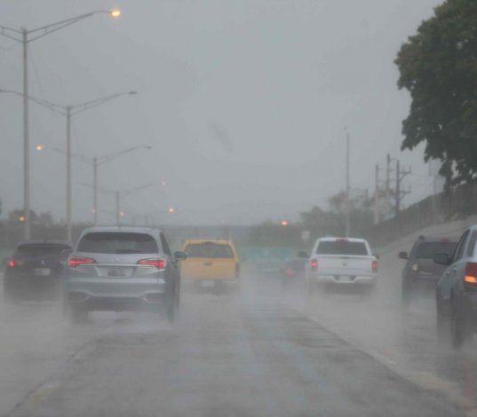 Una vaguada aumentará el desarrollo de lluvias a través de la isla
