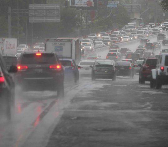 Una vaguada provocará fuertes lluvias en el área norte y este de la isla