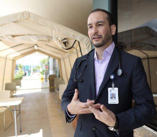 Ambiente en hospitales: Se siente como la calma antes del huracán
