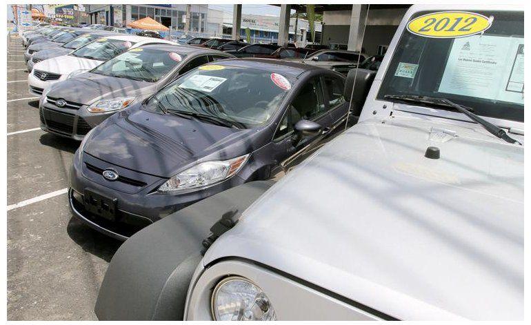 Cae 96.2% la venta de autos nuevos
