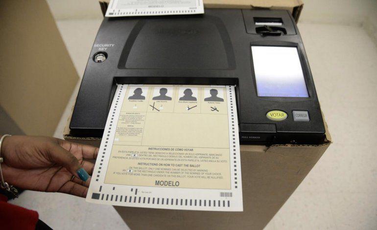 En marcha escrutinio electrónico para primarias