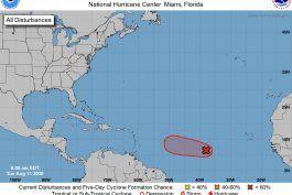 aumenta probabilidad de desarrollo ciclonico de onda tropical