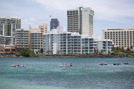 para marzo la llegada del turismo a la isla