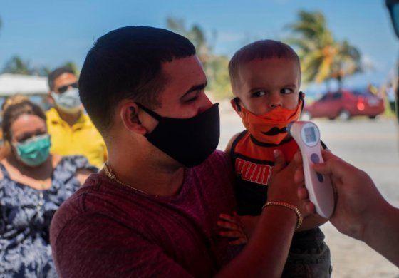 Cinco niños están en terapia intensiva en Cuba por el coronavirus