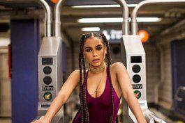 La cantante Anitta está feliz con su nuevo trabajo en Brasil.