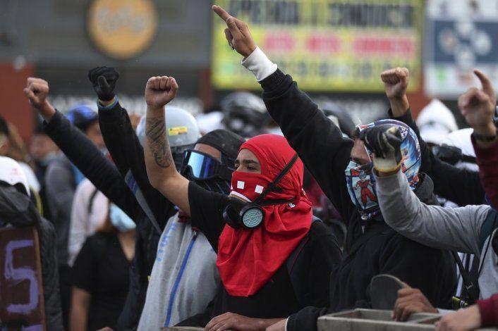 Derechos humanos: Van 42 muertos por protestas en Colombia