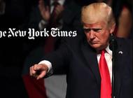 trump demanda a su sobrina y al new york times por exponer sus datos fiscales