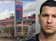 tras las rejas un hombre acusado de comprar gasolina con una tarjeta de credito falsa en gasolinera de hialeah